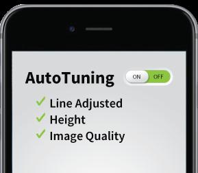 Auto Tuning Status