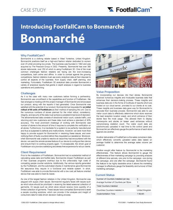 دراسة حالة بونمارشي