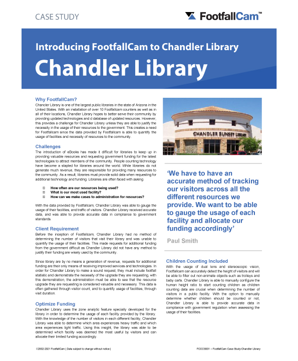 Chandler Library Logo