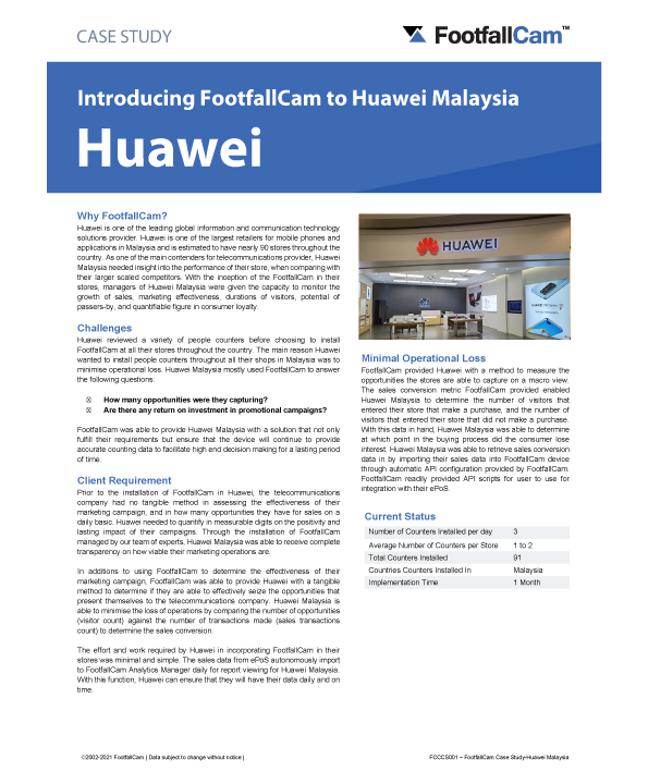 Étude de cas Huawei