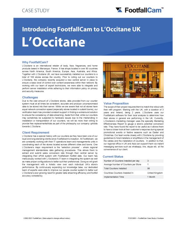 Étude de cas L'Occitane