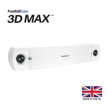 FootfallCam 3D MAX - Left Side View