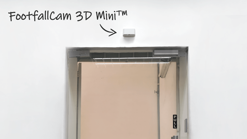 FootfallCam 3D Mini Installation