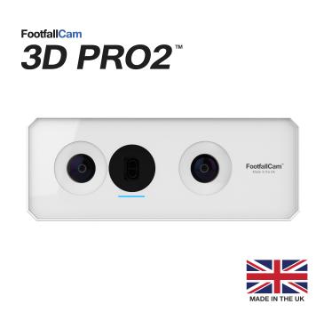 FootfallCam 3D Pro2 - 前视图