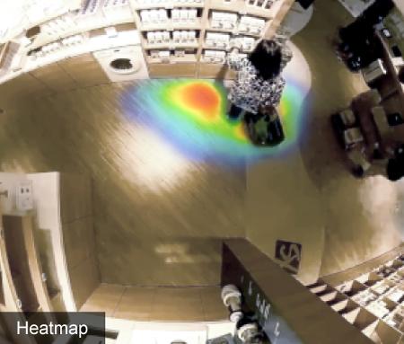 FootfallCam 3D Pro2 - 热图