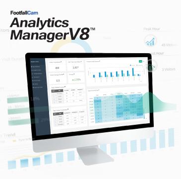 FootfallCam 分析管理器 V8