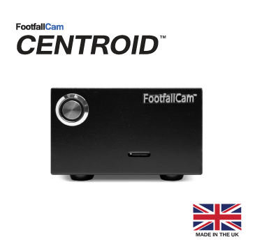 FootfallCam Centroid - Front View