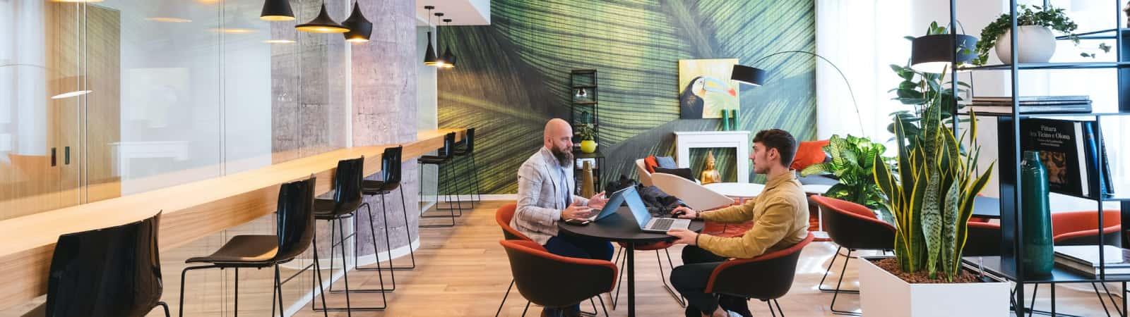 Cafetería de oficina inteligente