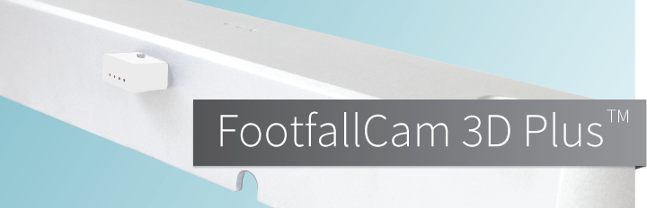 Footfallcam 3D Plus, people counting, people countercontador de pasos
