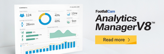 FootfallCam счетчик людей Система - Analytics Manager V8