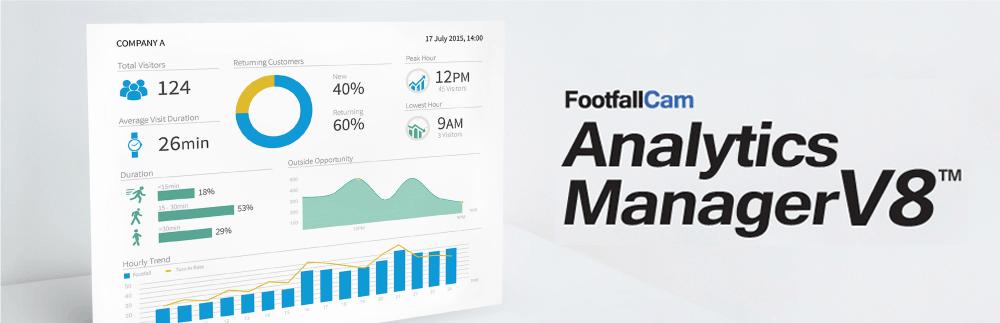 FootfallCam عداد أشخاص النظام - مدير التحليلات V8