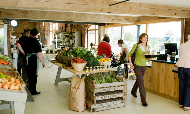 Apley farm shop, people counting, people counter, footfall counter