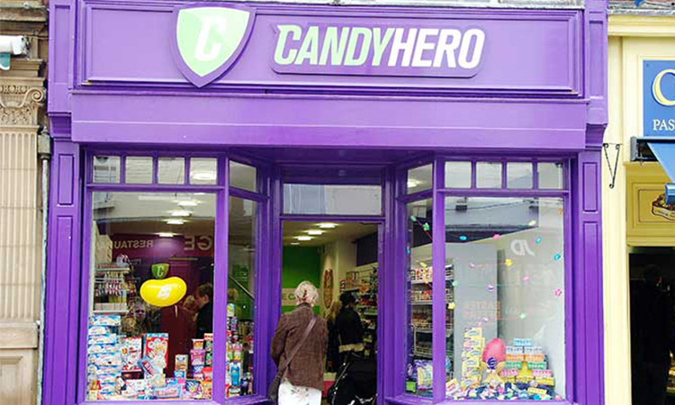 Candy Hero, people counting, people counter, footfall counter
