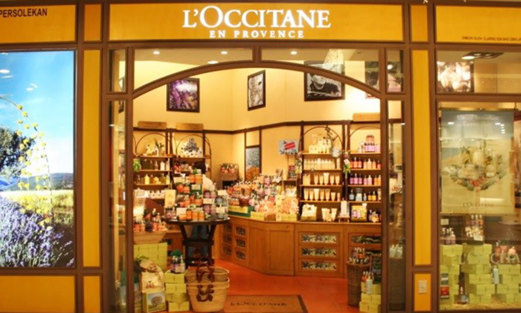 L'Occitane, people counting, people counter, footfall counter