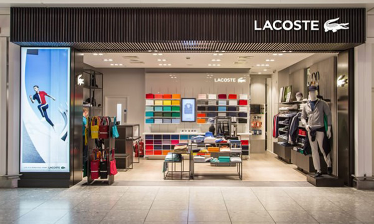 Lacoste, people counting, people counter, footfall counter