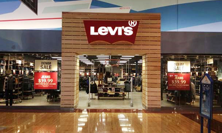 Levis, people counting, people counter, footfall counter